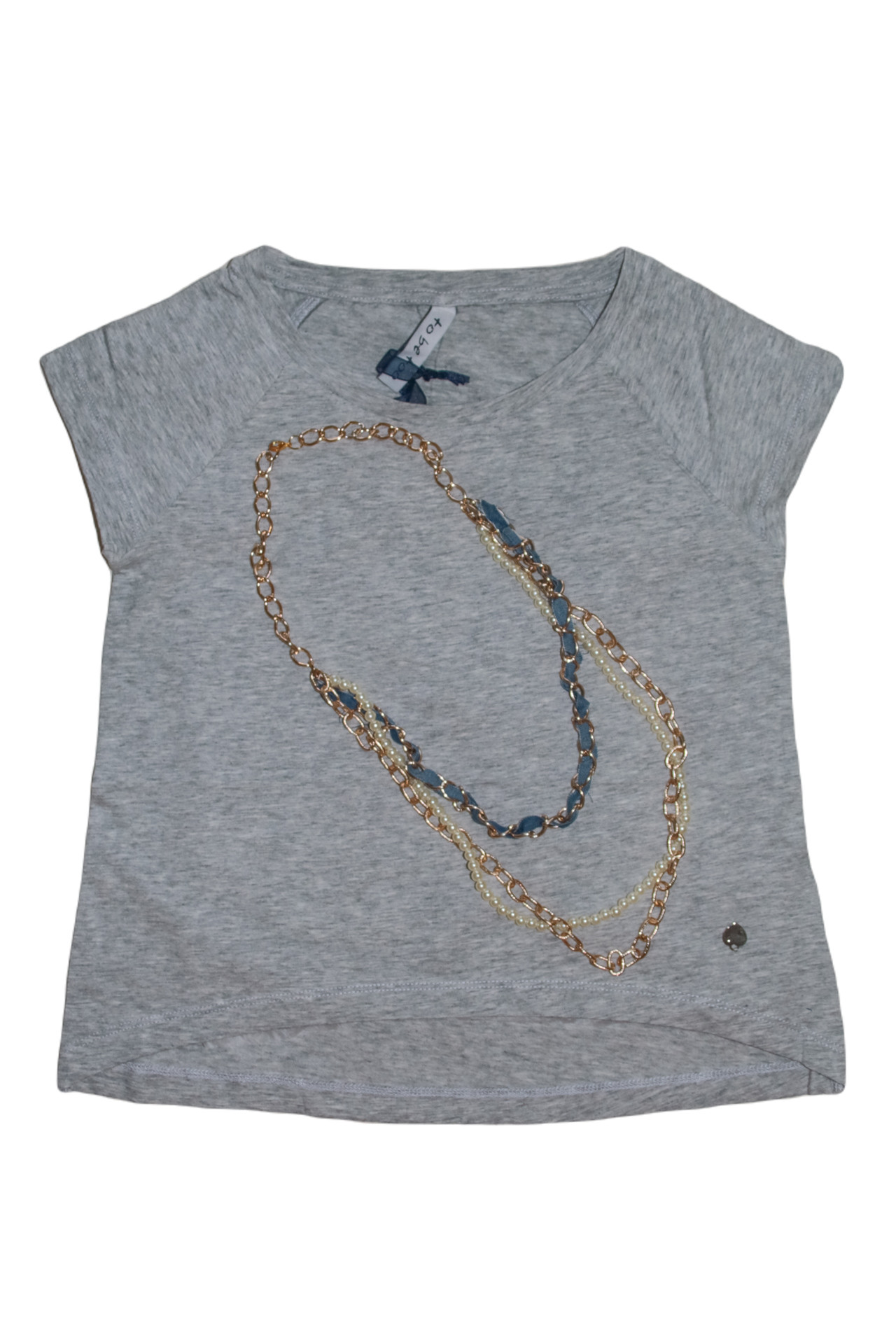 T-shirt with accessories - 1