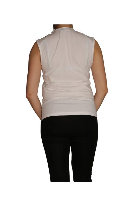 T-krekls Calvin Klein (traips - tonal.krēms) - 2