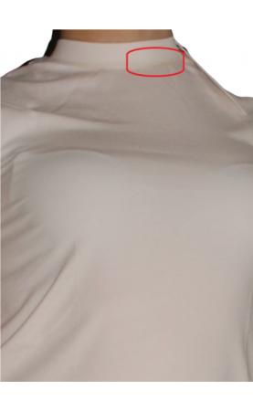T-krekls Calvin Klein (traips - tonal.krēms) - 4