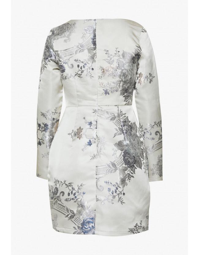 FLORAL MINI DRESS - Shift dress - 3