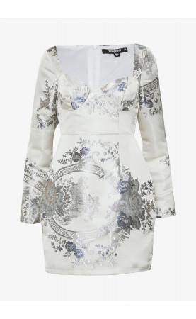 FLORAL MINI DRESS - Shift dress - 2