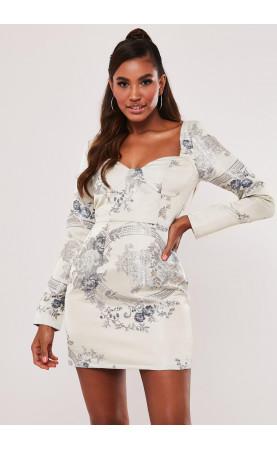 FLORAL MINI DRESS - Shift dress - 1