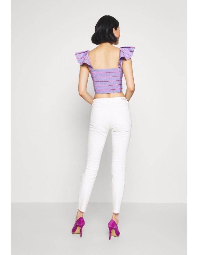 NELA - Jeans Skinny Fit - white denim - 4
