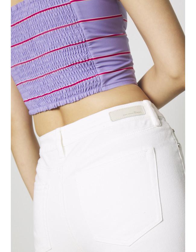 NELA - Jeans Skinny Fit - white denim - 5