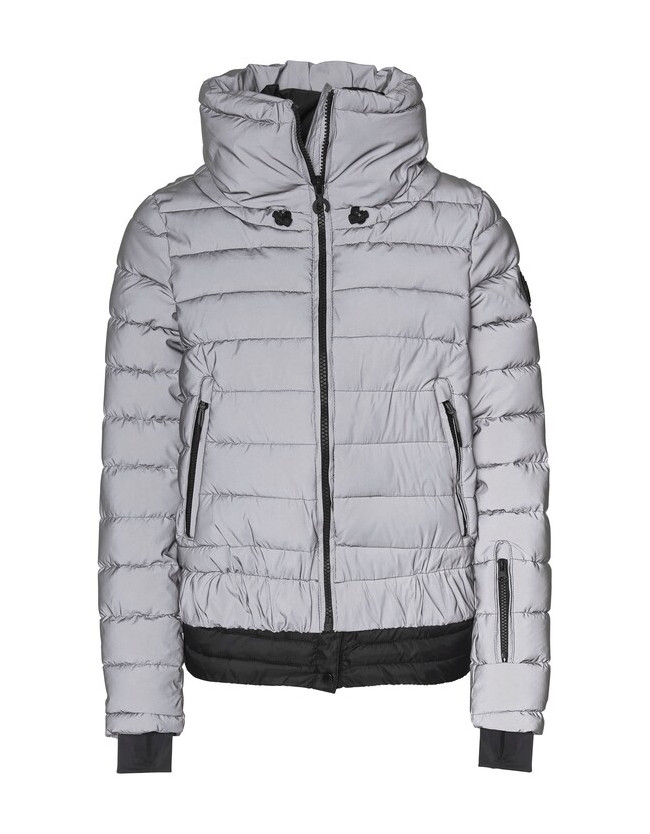 Siguang Women, Padded Jacket, Loose Fit silver/reflective - 1