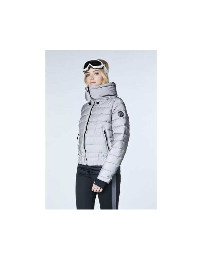 Siguang Women, Padded Jacket, Loose Fit silver/reflective - 3
