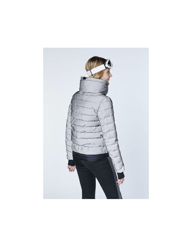 Siguang Women, Padded Jacket, Loose Fit silver/reflective - 5
