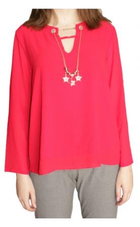 Блузка (использованное, есть небольшой дефект) - 1
