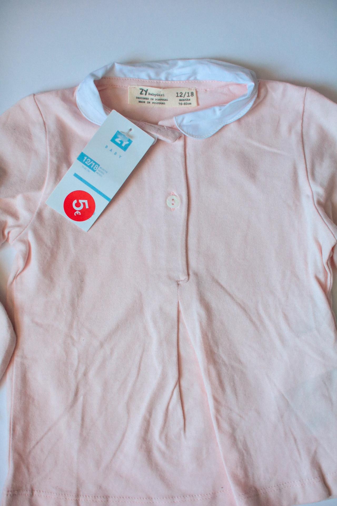 ZY BabyGirl  mazuļu krekliņš 12-18M - 3