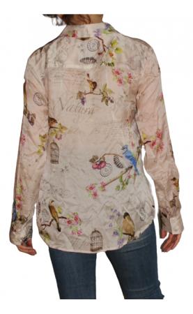 Zīda krekls La Belle Francaise Paris - 2