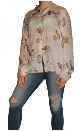 Шелковая рубашка La Belle Francaise Paris - 3