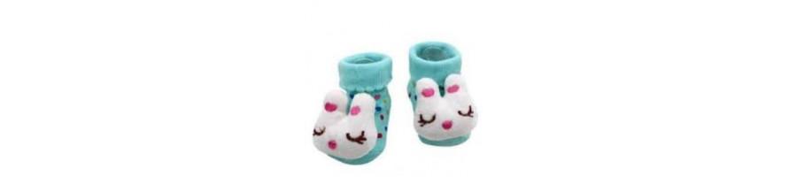 Socks, slippers, boots